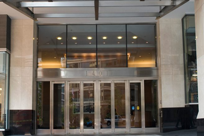 Entrance to 1401 New York Avenue, NW