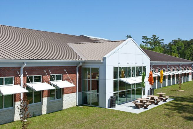 New Communications Administrative Facility - LEED Gold (Features Sunshades)