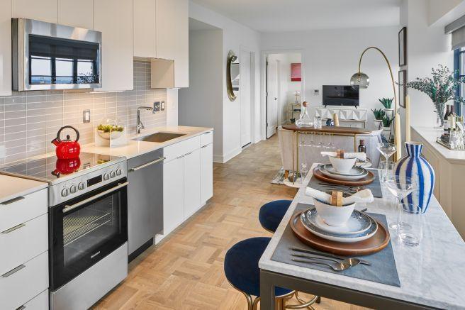 Meridian Hills Apartment Kitchen