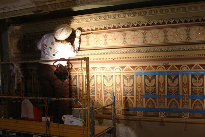 Conservation of Historic Decorative Paint