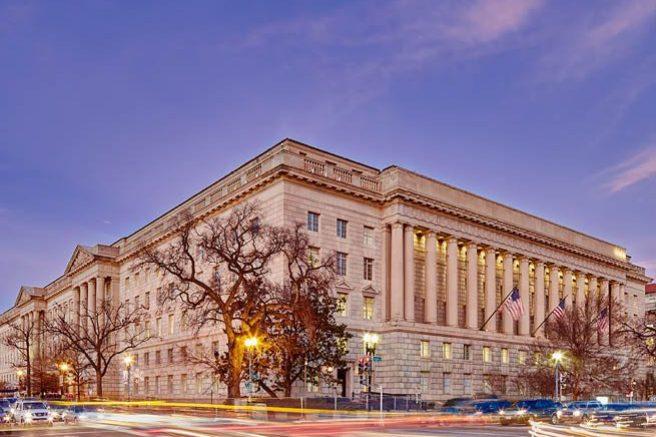 Exterior of Herbert C. Hoover Building