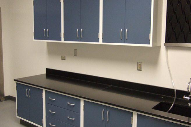 New Laboratory Casework
