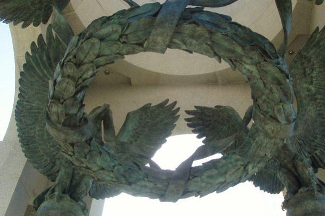 Baldacchino Sculpture at National World War II Memorial