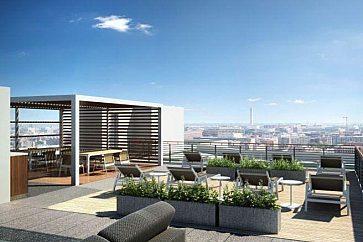 2144 California Street Renovation Rooftop