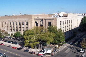 Exterior of Cohen (Wilbur J.) Building
