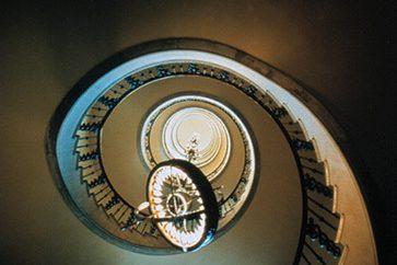 Restored Interior Stairwell