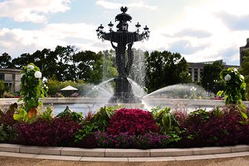 Bartholdi Fountain Following Renovation