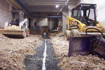 Demolition of Basement Floor Slab