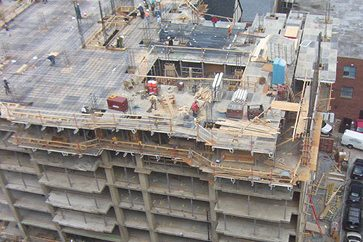Structural Work Halfway Complete