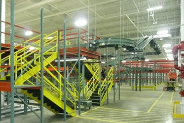 Grunley coordinated all utility connections with another contractor who installed the warehouse racking components.