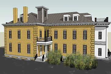 Rendering of Potomac Annex Building 5 Renovation