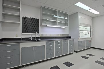 Renovated Laboratory with Standard Finishes