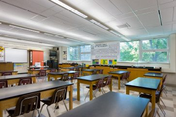 Renovated Science Classroom Space