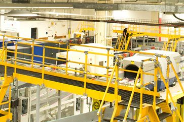 New Baggage Handling Testing System